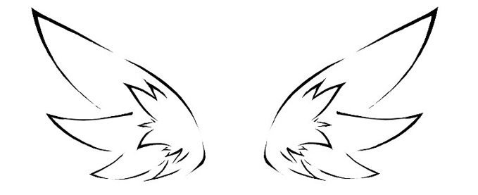 Comment dessiner des ailes d 39 ange - Ailes d ange dessin ...