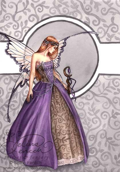 La fée Caelia dans Contes et Légendes des fées queen-caelia