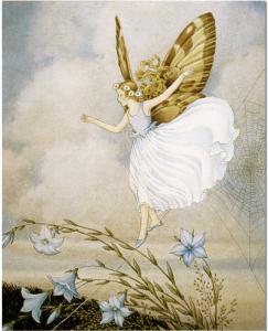 Ida Rentoul Outhwaite - Fairy Tightrope